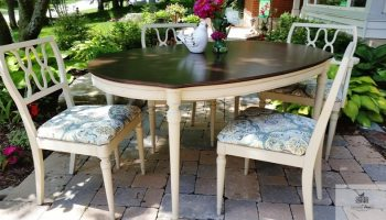 Painted Farmhouse Dining Set \