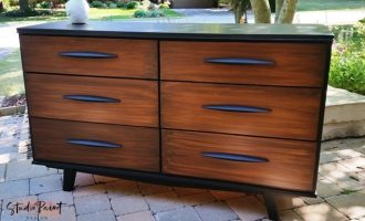 "Two-Toned Mid-Century Modern Dresser ""Jack"""