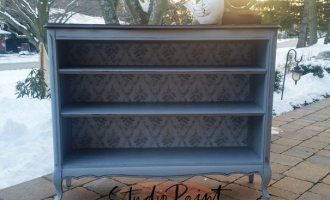 "French Provincial Painted Shelf ""Dain"""