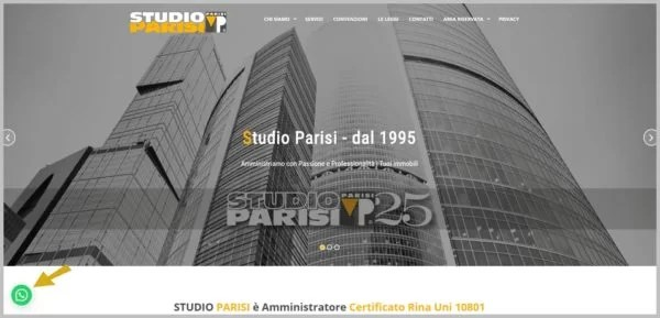 Studio Parisi - sito whatsapp