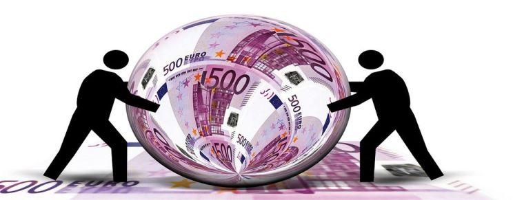 denaro sotto la lente