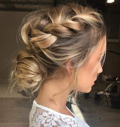 formal-hairstyle-messy-buns-braids
