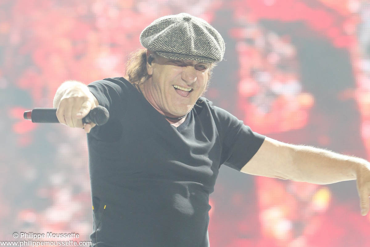 Le chanteur AC/DC