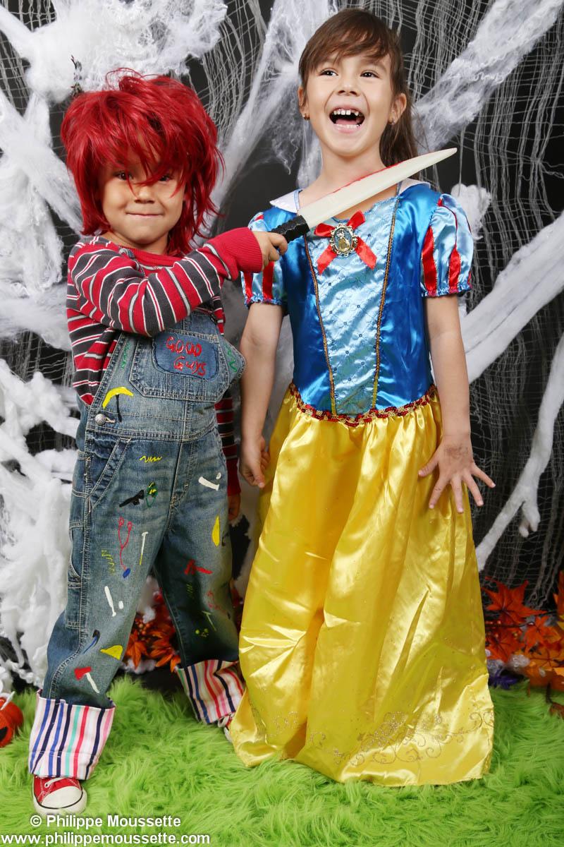 Princesse et petit Chucky