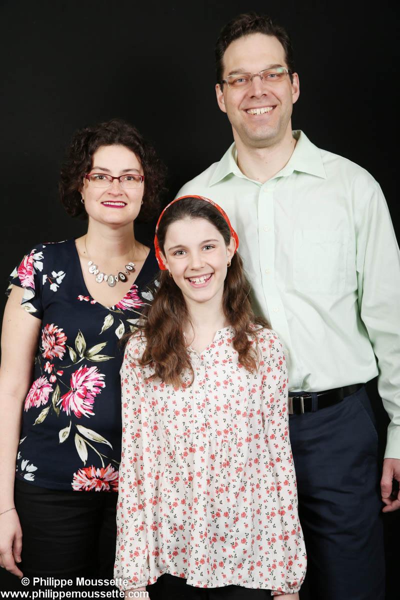 Papa maman et leur fille