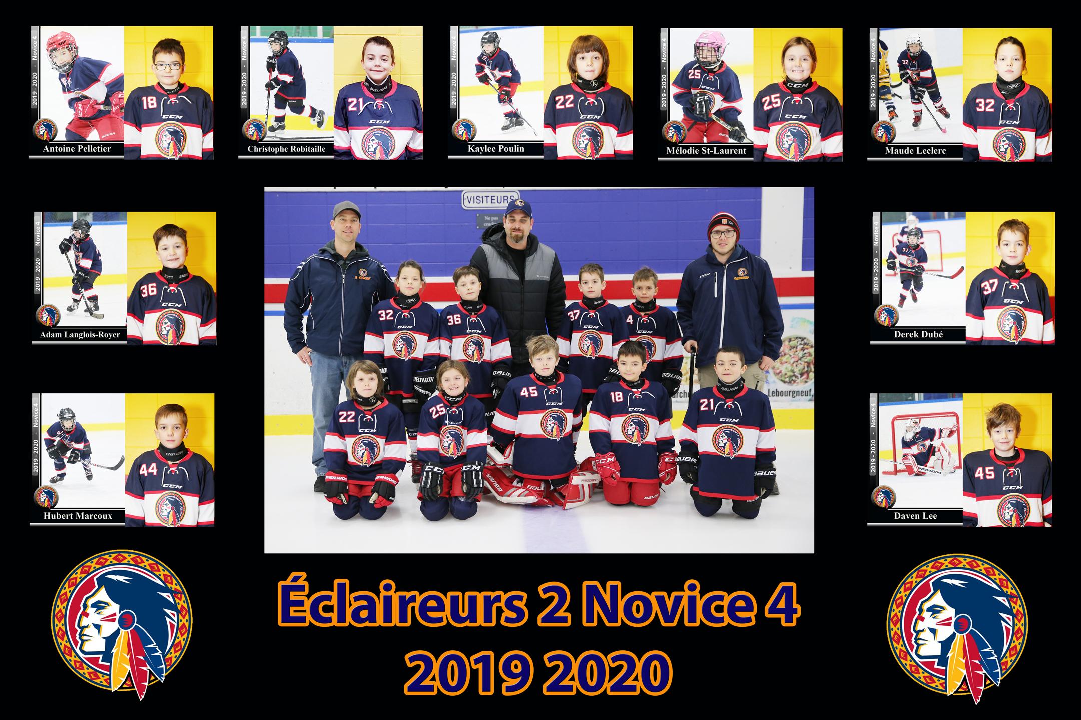 Photo de l'équipe de hockey Éclaireurs
