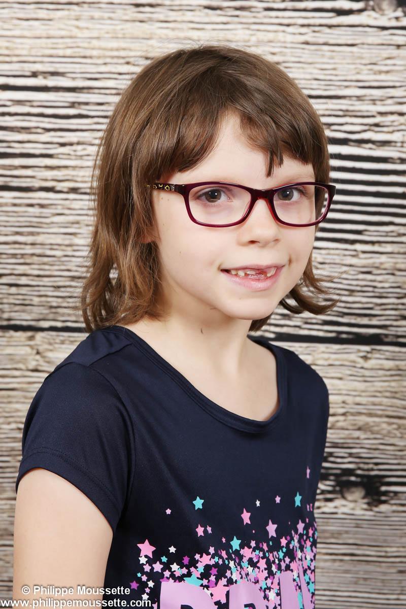 Portrait d'une fille