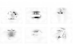 """Città del Vaticano / 43°46'57"""" N 11°17'14"""" E 2012 Scatola e fotografia stenopeica"""