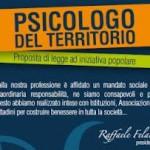 """Pronta la proposta di legge per l'istituzione dello """"psicologo del territorio"""""""
