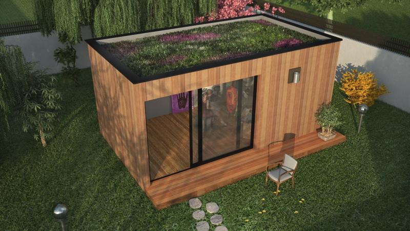 Studio De Jardin De Qualit Spacieux Et Confortable