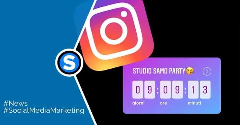 Instagram Come Utilizzare Il Nuovo Sticker Countdown