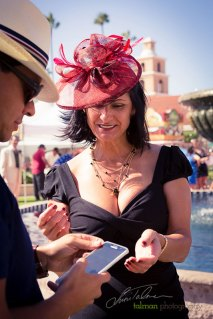 Everyone is a Star at the Hollywood Fashion Contest during the 2015 Bing Crosby Opening Day at Del Mar.