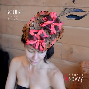 Squire Woman's Hat. Come out for the Studio Savvy Salon Trunk Show-Hat Sale, July 13th, 2016