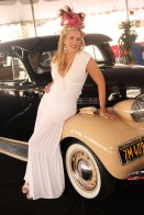 Join the Vintage Hollywood Fashion Contest and grab the grand prize as a classic beauty like Deena Von Yokes here at Del Mar in 2013.