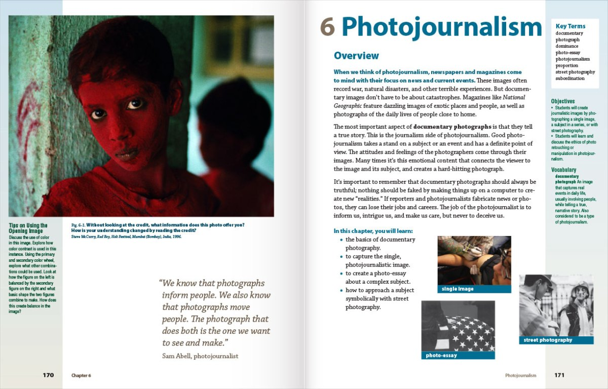 Focus on Photography Textbook