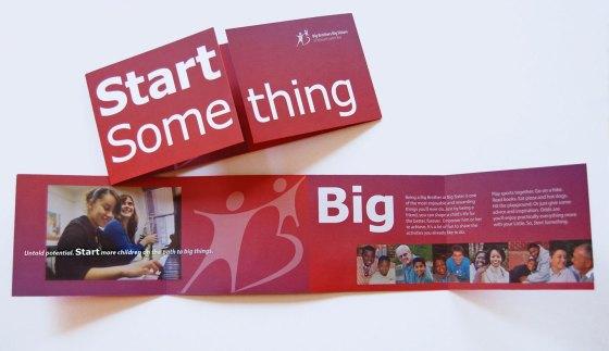 Big Brothers Big Sisters Brochure