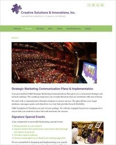 Creative Solutions & Innovations Website