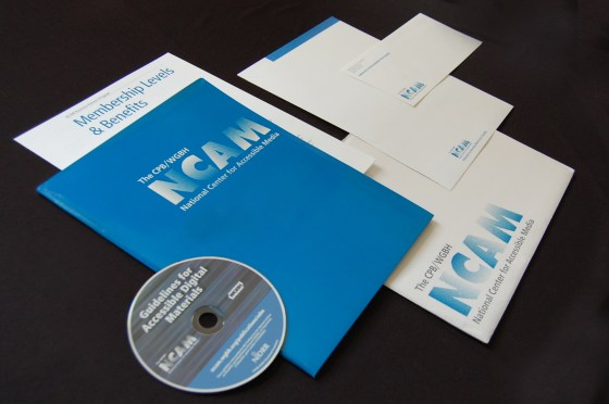NCAM Print Collateral
