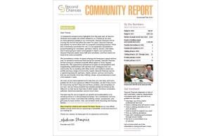 Second Chances Community Report