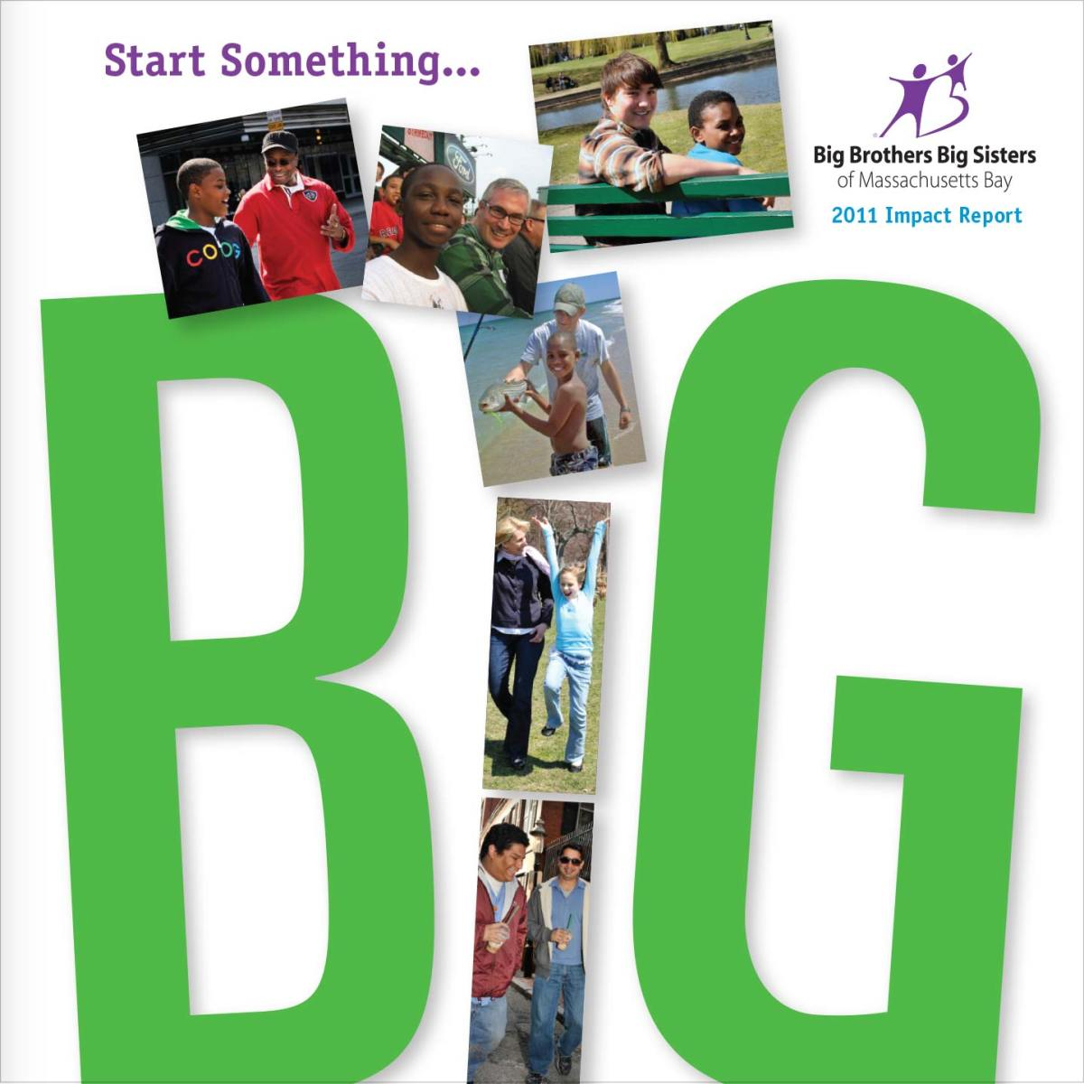 Big Brothers Big Sisters of Massachusetts Bay Annual Report Cover