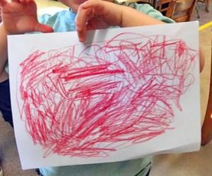 Nursery School Scribble