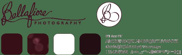 bellafiore branding designed by shelli - visual identity elements