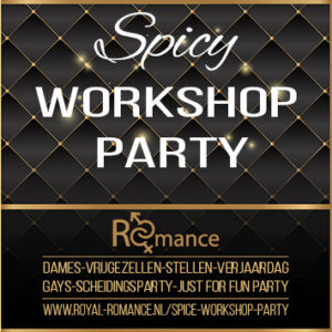 spicy workshop party flyer