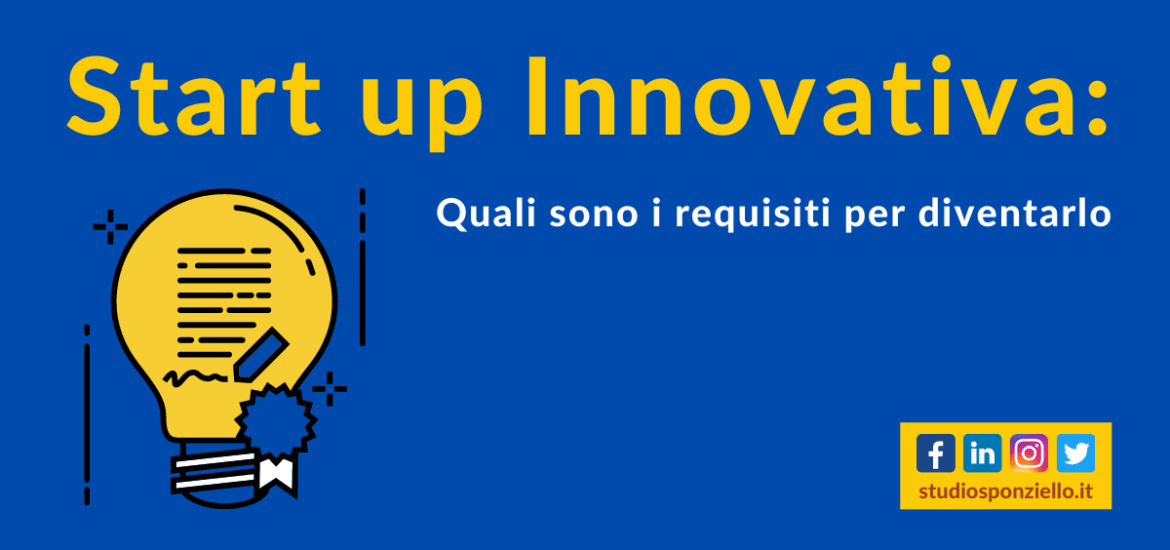 come diventare start up innovativa