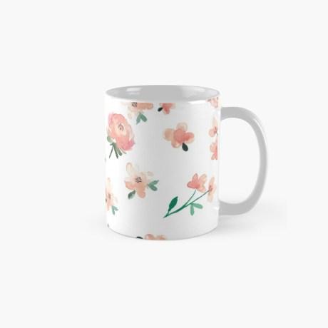 koffiemok bloemen