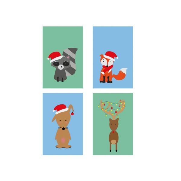 Cadeaulabels kerst