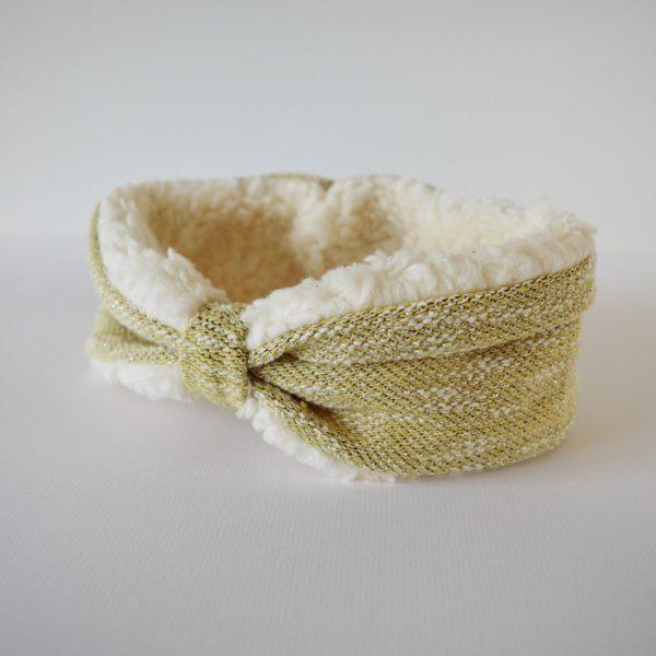gouden haarband