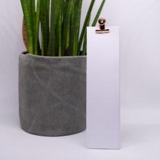 hoog doosje wit met rose retroclip