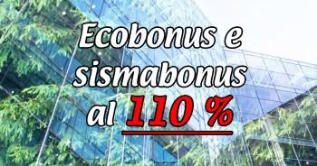 Ecobonus e sismabonus al 110% decreto rilancio detrazione fiscale Studio Tecnico E.S.E.