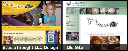 Katie Bug Quilting website Comparison