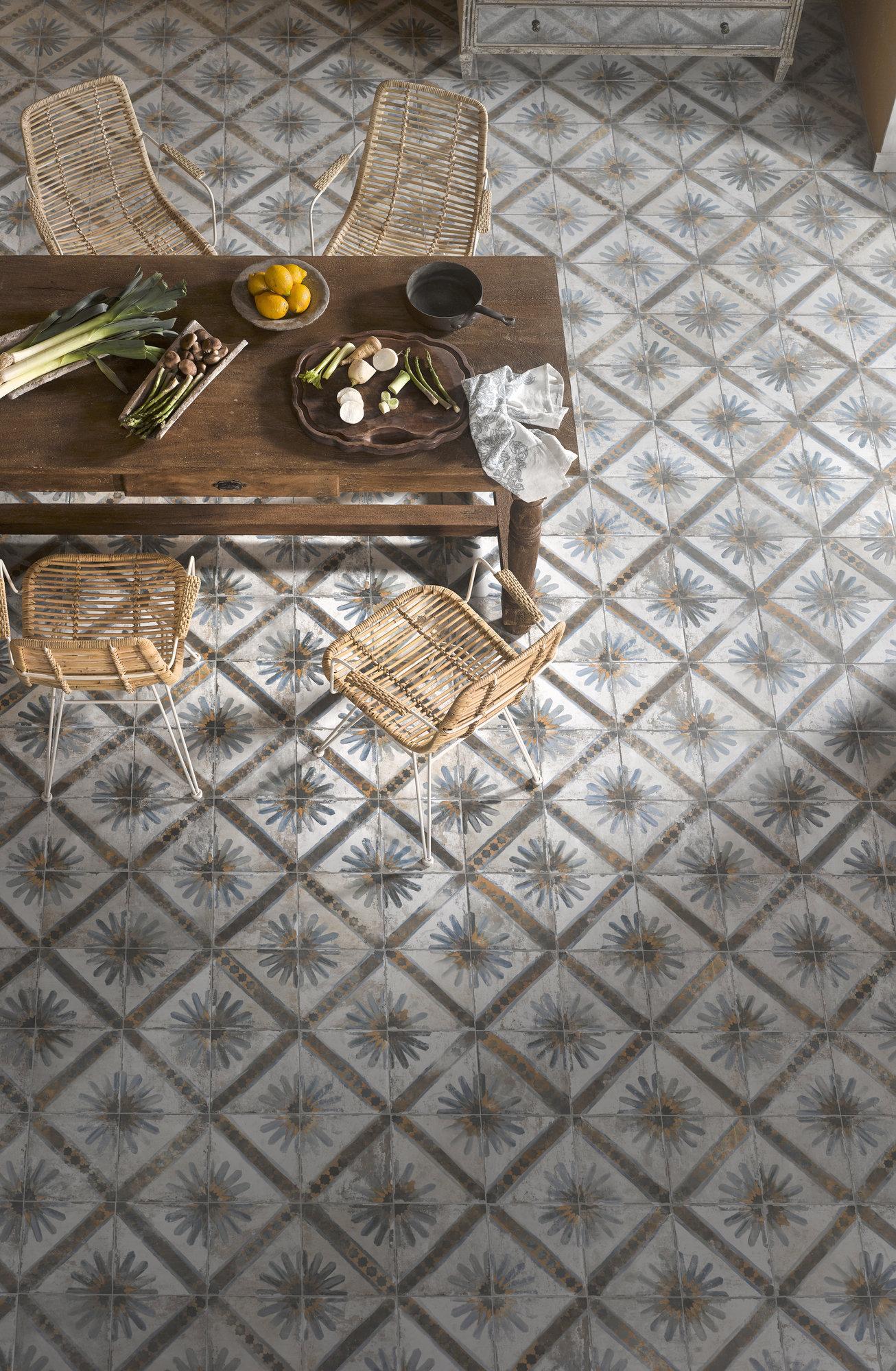 regency kappa blue rustic ceramic tile studio tiles