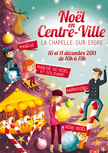 Illustration Marché de Noël 2011