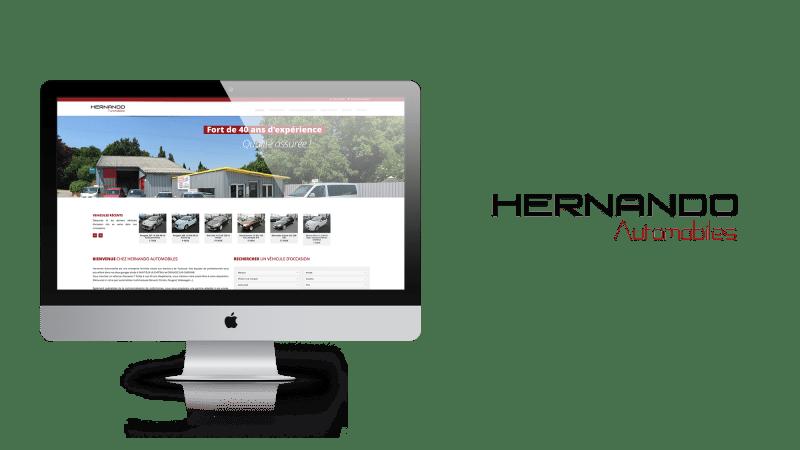 site-internet-hernando-automobiles-conception-site-web-eaunes-muret-toulouse