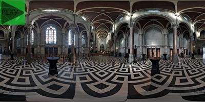 Voormalig Sint-Dominicuskerk Provinciestraat Antwerpen