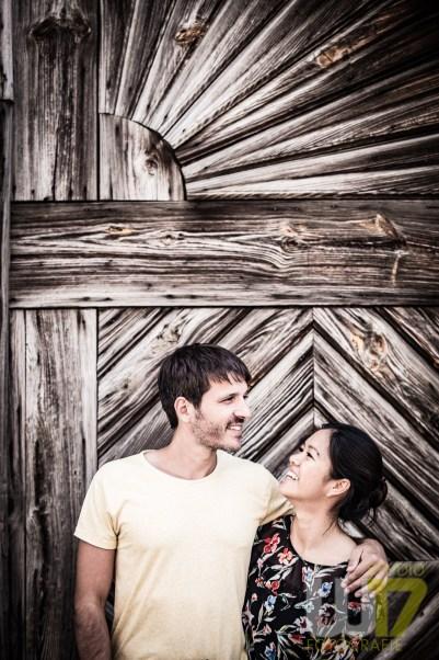 Mein Brautpaar bei der Locationbesichtigung