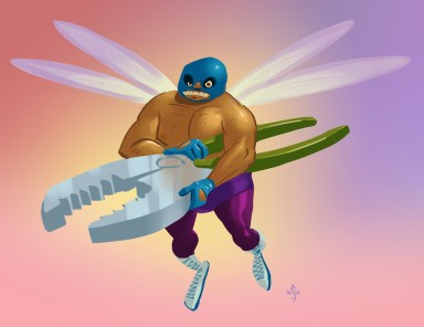 Evil Luchadore Tooth Fairy
