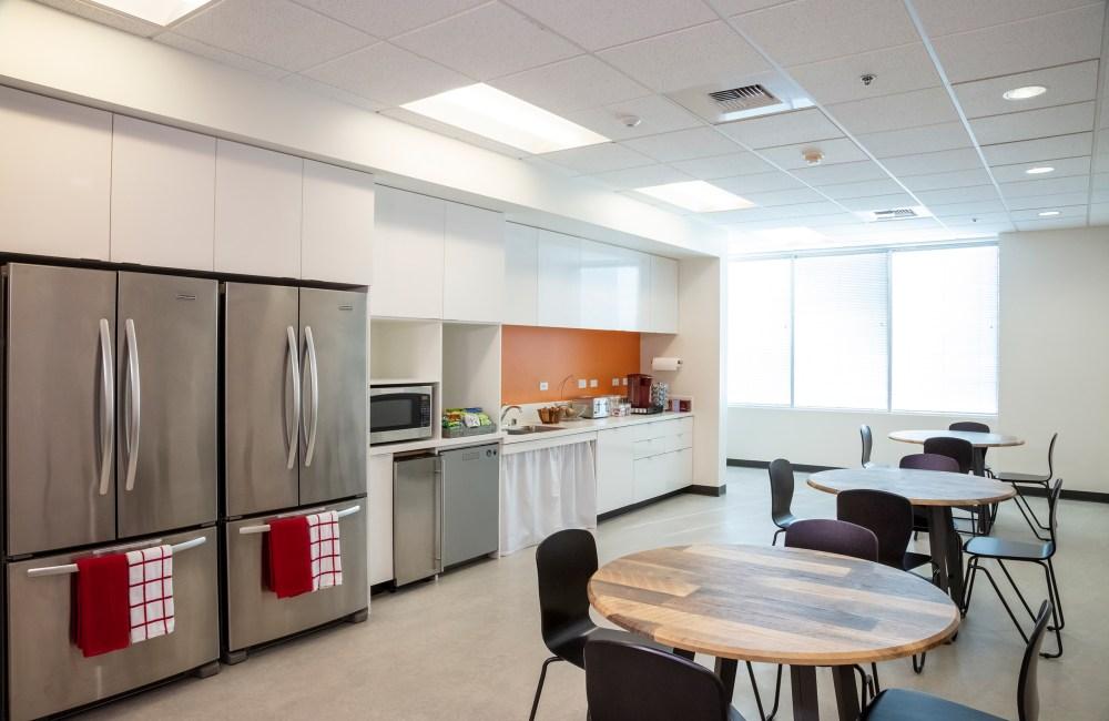 kitchen, break room, the studio coworking creekside roseville