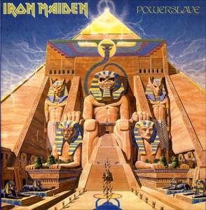 Pochette du cinquième album d'Iron Maiden : Powerslave (1984)