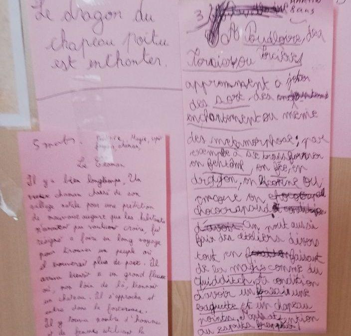 PoudLoire 2018_ l'ensemble des textes lus par les apprentis sorciers