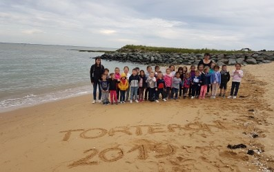 Les élèves de maternelle de Torteron sont partis à la mer !