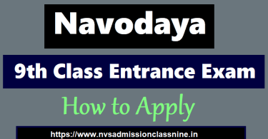 Navodaya 9th class Entrance exam, JNV by Stud Mentor