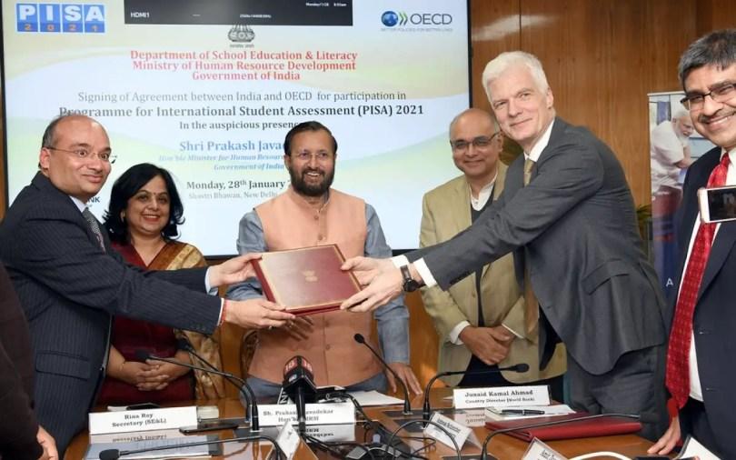 Prakash Javdekar announce PISA 2020-21
