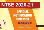 Apply Online NTSE-2020-official-Notification-by-NCERT-NTSE