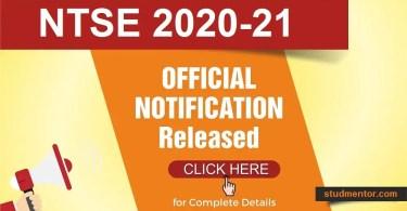 Apply Online NTSE-2020-official-Notification-by-NCERT-NTSE
