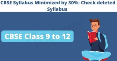 CBSE-Syllabus-Minimized Deleted 30 %