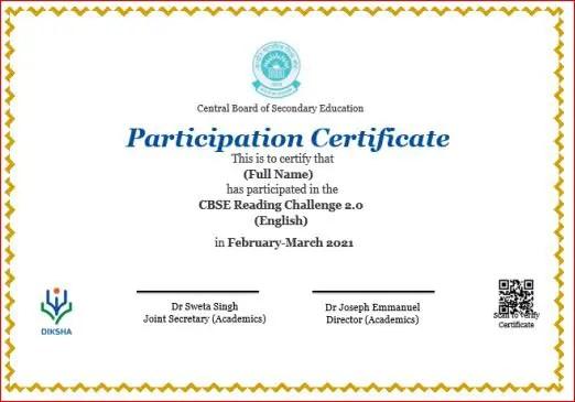 Certificate format